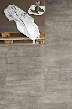 Baldosa de suelo de gres porcelánico: imitación hormigón RE-USE : MALTA GREY PROVENZA                                                                                                                                                                                 Más