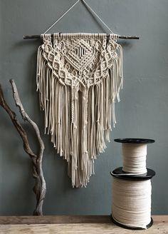 Macrame Wall Hanging / Modern Macrame / Bohemian by MiniSwells