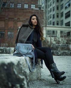 Joan, New York // Share your vegan outfits with #VildaOOTD http://www.vildamagazine.com/2017/02/ootd-february-vegan-streetstyle/