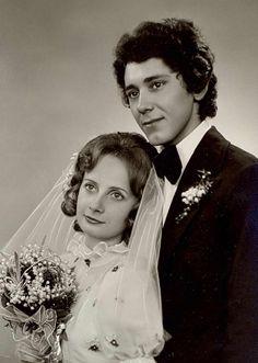 Ślub Irminy Hofman i Włodzimierza Kołodziejczyka (1 czerwiec 1974 w Częstochowie)