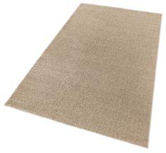 Teppich »Joshua«. Der naturfarbene Teppiche im traditionellen Gabbeh-Look ist der ideale Blickfang für modernes Ambiente. Der gewebte Teppich mit dem Spezial-Garn hat eine leicht körnige Oberfläche die angenehm unter den Füßen zu spüren ist. Der Flor ist sehr schön weich und gleichzeitig sehr haltbar und strapazierfähig. Das Gewicht ca. 2,2 kg/m.Florhöhe ca. 10 mm.   Details:  Uni-Teppich,  Qua...