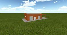 Cool 3D #marketing http://ift.tt/2HU6ZF7 #barn #workshop #greenhouse #garage #roofing #DIY