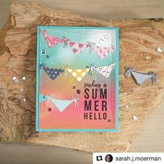"""891 Likes, 8 Comments - Simon Says Stamp (@simonsaysstamp) on Instagram: """"Bikini bottoms hung out to dry means it was a good weekend! And here's to a fantastic week!…"""""""