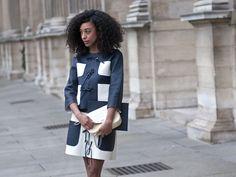 Paris Fashion Week Fall Street Style 2012 - Semana de la Moda Otoño Street Style - Marie Claire