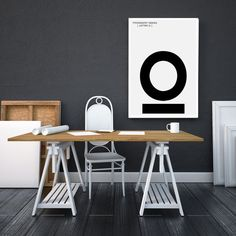 O Letter Print Modern Typography Art - Scandinavian / Nordic Interior Design, Letter Symbol Art - Minimalist Black and White Poster Modern Typography, Typography Poster, Nordic Interior Design, Letter Symbols, Black And White Posters, Online Printing Services, Printable Art, Scandinavian, Minimalist