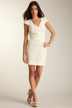 GUESS Cotton Lace Dress    $148
