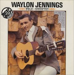 FOLK COUNTRY - Waylon Jennings - His first album on RCA Victor label.