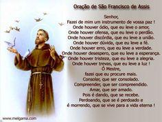 Oração São Francisco de Assis - Letra e Prece   Mensagens - Cultura Mix