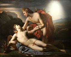 Apollon et Cyparisse, Dubufe