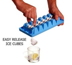 Quick Snap Ice Tray - Instead of having to pry your ice cubes out of the tray with your fingernail, just give this tray a quick snap to release one cube at a time! Definitely worth it if you don't have an ice maker. 50 Useful Kitchen Gadgets You Didn't Know Existed