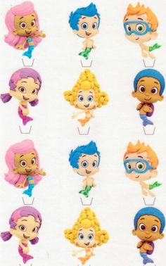 Bubble Guppies Edible Image Frosting Cake Topper Decoration Ebay