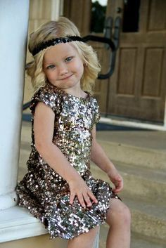 wedding 2 on Pinterest | Gatsby, Flower Girl Dresses and Flapper ...