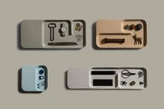 Charge Your Precious Gadgets With This Wireless Ceramic Tray: Seamlessly embedding technology in the confines of your home. Desktop Accessories, Office Accessories, Charles Ray Eames, Gadgets, Id Design, Plate Design, Poster S, Design Language, Higher Design