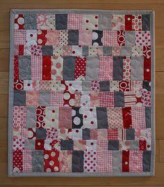 mini quilt - great colours