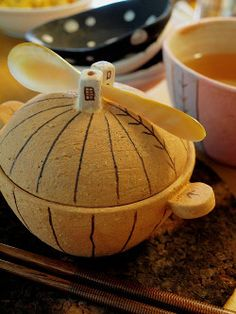 我妻珠美 陶展 - Le soufflé sur la table -