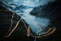 Your Shot Photo of the Month: Light-Trail Norway