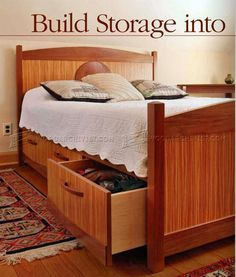 Under Bed Storage Plans - Furniture Plans