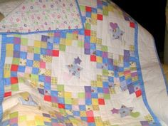 Pictures of Baby Quilts for Boys: A Star is Born Baby Quilt