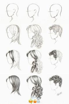 Haare zeichnen