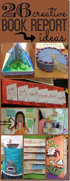 26 EPIC Book Report Ideas