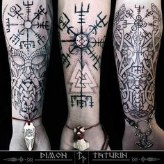 Tattoos And Body Art celtic tattoos Forearm Tattoos, Body Art Tattoos, Tribal Tattoos, Hand Tattoos, Sleeve Tattoos, Geometric Tattoos, Norse Mythology Tattoo, Norse Tattoo, Celtic Tattoos