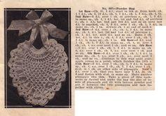 Crochet Pineapple Heart