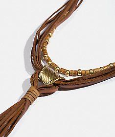 Spoon Jewelry, Diy Jewelry, Beaded Jewelry, Jewelery, Handmade Jewelry, Jewelry Necklaces, Jewelry Design, Leather Necklace, Boho Necklace