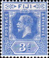 Postage Stamps Fiji 1922 King George V SG 233 Mint Scott 98 Other Fiji Stamps HERE
