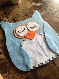 How To Make Felt Sew-free pillows no-sew owl pillows