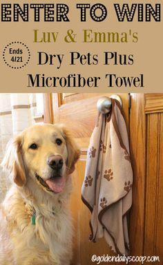 Luv & Emma's Dry Pets Plus Towel Review #sponsored