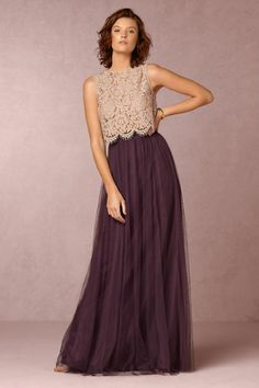 Cleo Top & Louise Tulle Skirt | BHLDN