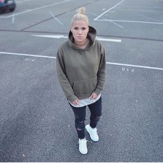 Premium Fleeced Hoodie in Olive. Also available in two more colours: Camel Khaki & Midnight Black.  ❌✖️️❌✖️️  longline, longline clothing, online shopping, streetwear, urban wear, hypebae, minimal movement, wdywt, snob shots, hoodie