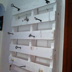 Pallet & Key Coat Rack