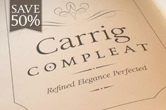 Carrig Compleat - Serif - 1