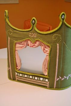 Custom Puppet Theater Made to Order Pick your by coffeycreations, $175.00