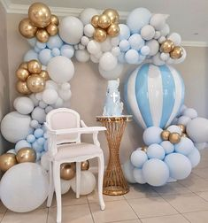 34 Creative Baby Shower Themes For Your Baby 2020 - Page 19 of 34 - coloredbikinis. Deco Baby Shower, Baby Shower Balloons, Baby Shower Parties, Baby Shower Themes, Baby Boy Shower, Baby Boy Balloons, Shower Ideas, Balloon Garland, Balloon Decorations