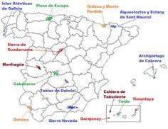 34 Ideas De Mapas Para España Mapas España Geografía