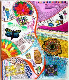 Art journal blog - amazing blog