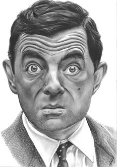 Mr Bean Mr Bean,Sketch Mr Bean Related posts:Our Favorite Moments from 2018 Celebrity Weddings! Realistic Pencil Drawings, Amazing Drawings, Pencil Art Drawings, Art Drawings Sketches, Portrait Sketches, Pencil Portrait, Portrait Art, Mr Bean Desenho, Mr. Bean