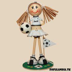 Fofucha animadora del Real Madrid