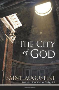 The City of God by Saint Augustine of Hippo http://smile.amazon.com/dp/1598563378/ref=cm_sw_r_pi_dp_DhZdwb1GR7Z3Z