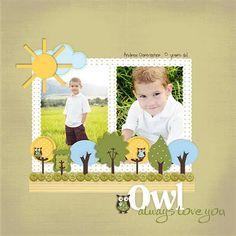 Owls, cute