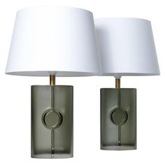 Tapio Wirkkala, Pair of Table Lamps, Model 3307, 1960s | From a unique collection of antique and modern table lamps at https://www.1stdibs.com/furniture/lighting/table-lamps/