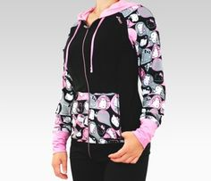 ASICS x Hello Kitty Hooded Jacket: Pink Tues:  Anything Pink #SephoraHelloKitty