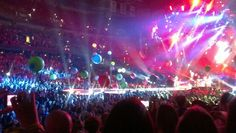 Coldplay concert - Tampa Bay Times Forum- June 2012