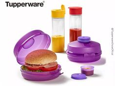 Tupperware, School Items, School Building, Lunch Boxes, Salmon Burgers, Bottles, Buildings, Plastic, Cleaning