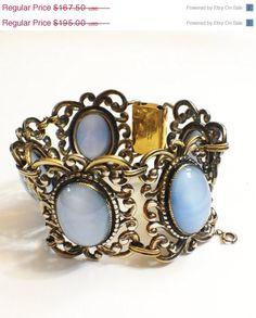 Vintage Danecraft Sterling Bracelet by GracesVintageGarden on Etsy