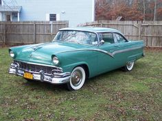 1956 Ford Fairlane Maintenance/restoration of old/vintage vehicles: the material for new cogs/casters/gears/pads could be cast polyamide which I (Cast polyamide) can produce. My contact: tatjana.alic14@gmail.com
