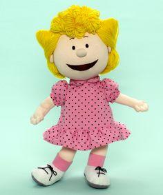 Madame Alexander Peanuts Sally 14-inch Cloth Doll - Cloth Dolls; item 61810