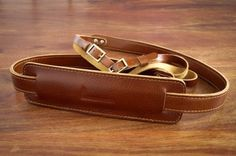 Leather Camera Strap from Uhdinger Leather Camera Strap, Camera Case, Leather Projects, Leather Working, Leather Craft, Cuff Bracelets, Brown Leather, My Photos, Factories